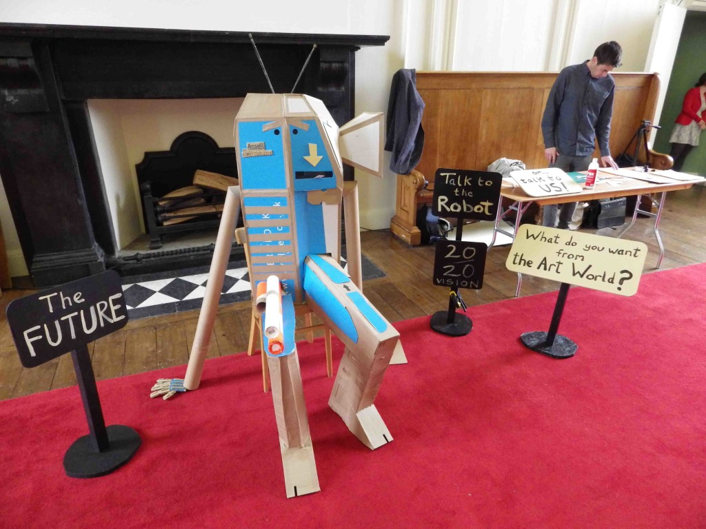 The Robot at IMMA